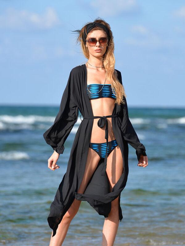Şifon Deniz Elbisesi Pareo Elbise
